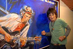 Pensive by Ronnie Wood
